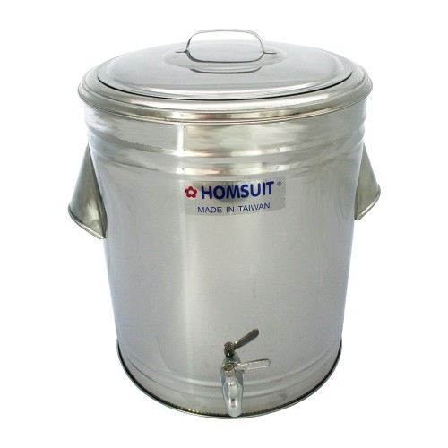 [READY STOCK] HOMSUIT Insulated Beverage Dispenser Bucket Stainless Steel - 32L