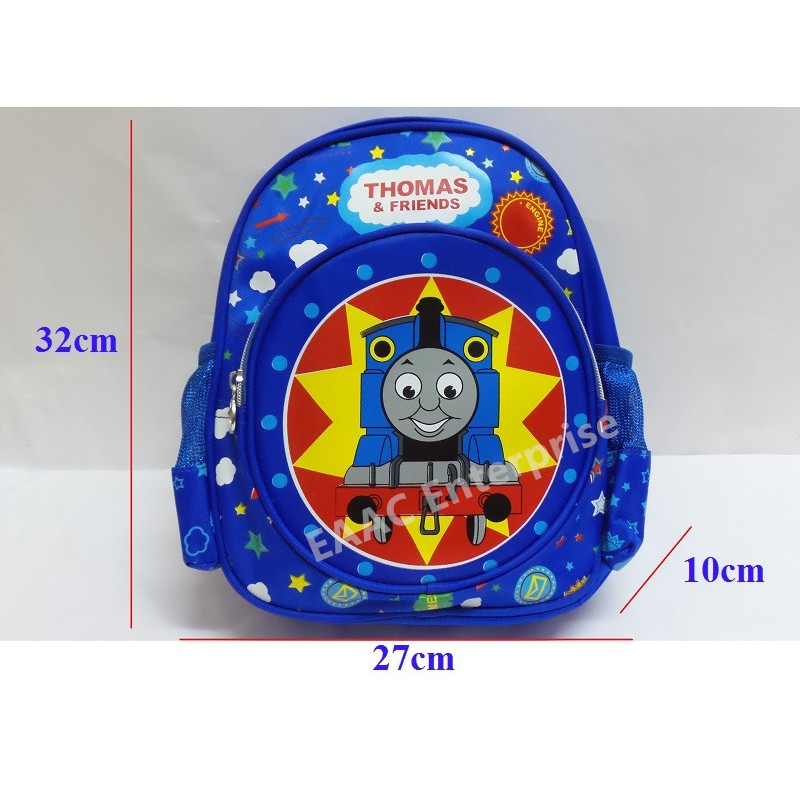 Thomas & Friends Train Kindergarten School Bag Backpack , 27 x 32 x 10cm