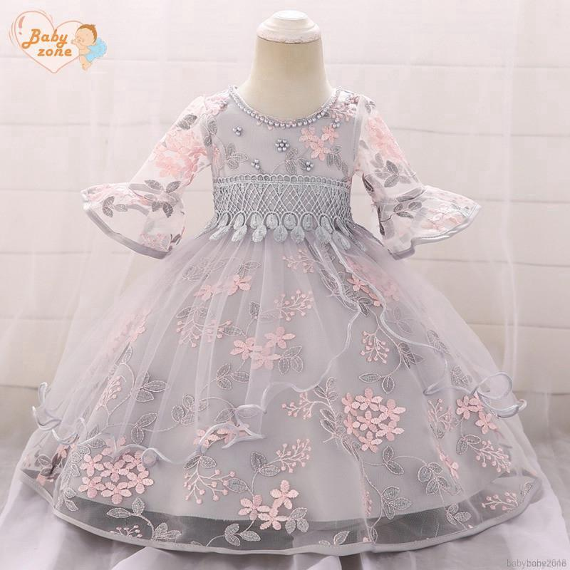 1a93d3cbe5 babyzone Baby Girl Birthday Wear Toddler Girl Lace Wedding Evening ...