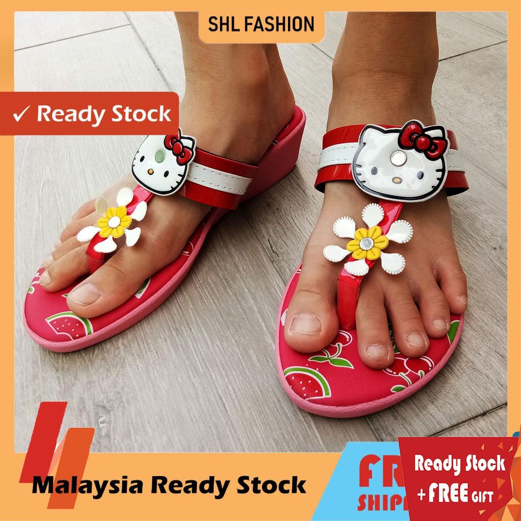 SHL Hello Kitty Lovely Girls Casual Kasut Slipper 800