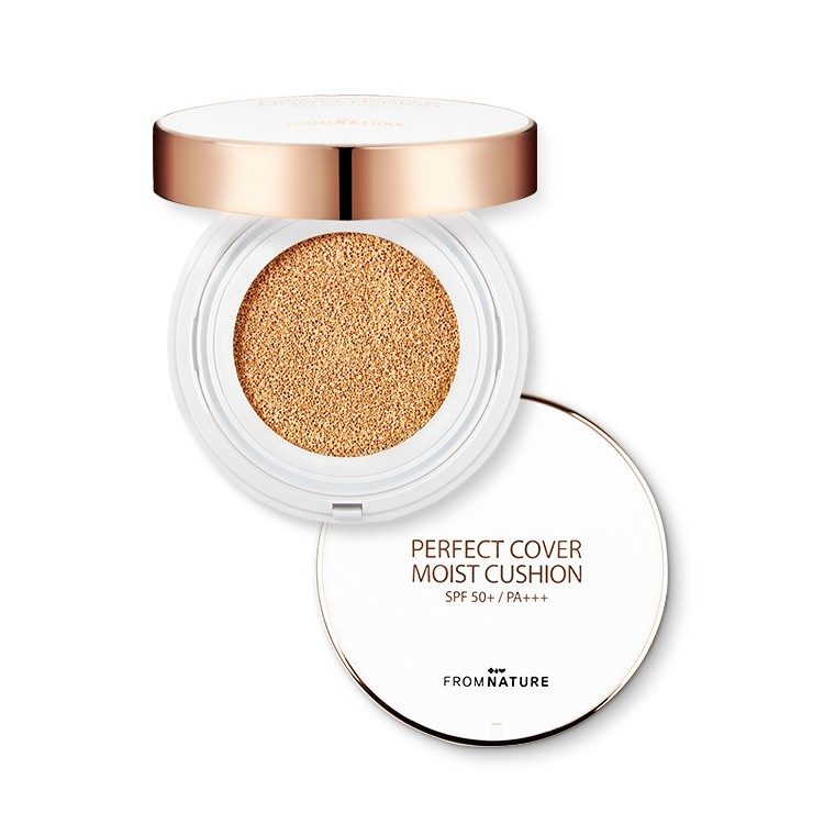 FROMNATURE Perfect Cover Moist Cushion SPF50+ PA+++