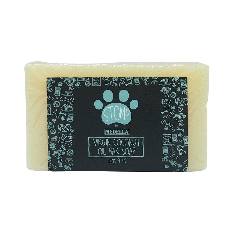 STOMP: Virgin Coconut Oil Bar Soap for pets (110g)