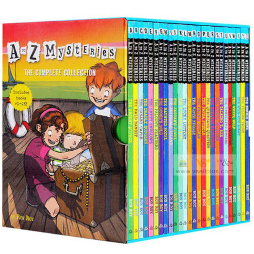 Ready Stock- 26 books of A to Z Mysteries The Complete Collection