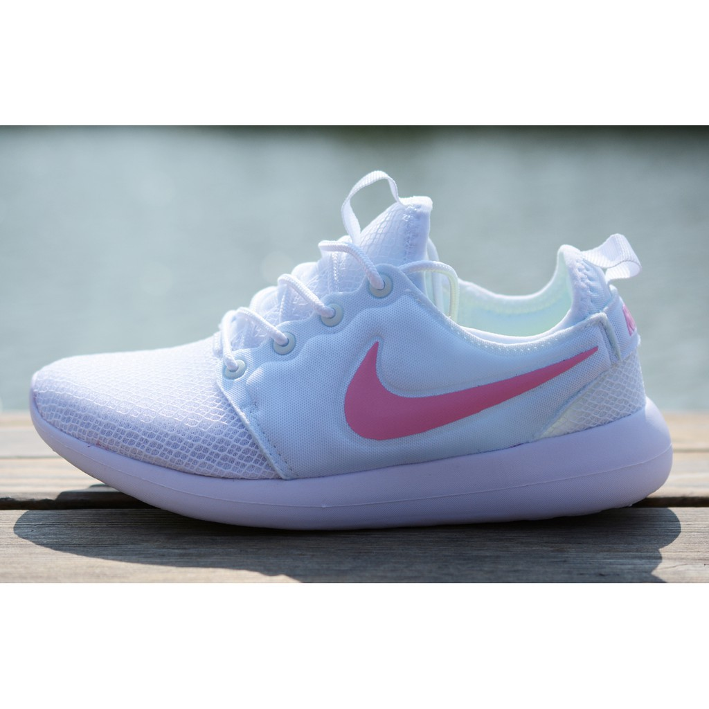 on sale e130c adbc0 Original Nike Roshe Two V3.0 sports shoes running shoes White pink