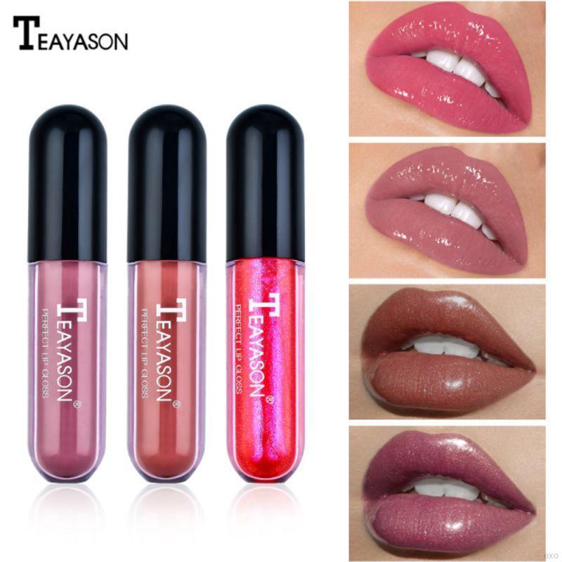♕ exo ღ Mirror Lip Glaze Moisturizing Waterproof Non-stick Cup Jelly Lip Gloss