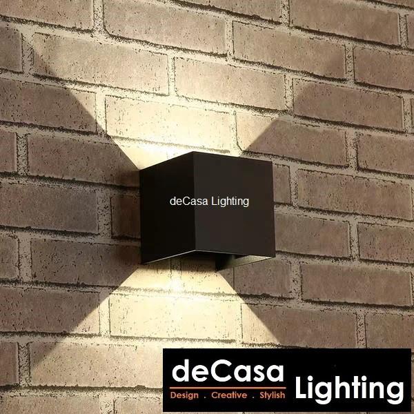 LED OUTDOOR WALL LIGHT Lampu Hiasan Outdoor Led Wall Lamp Special Effect Wall Light decasa Lighting BD06