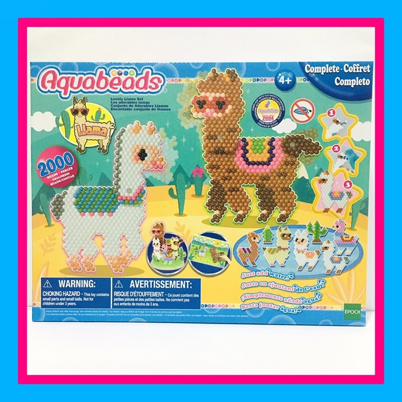 Aquabeads Lovely Llama Set By Epoch Shopee Malaysia We don't know when or if this item will be back in stock. shopee malaysia