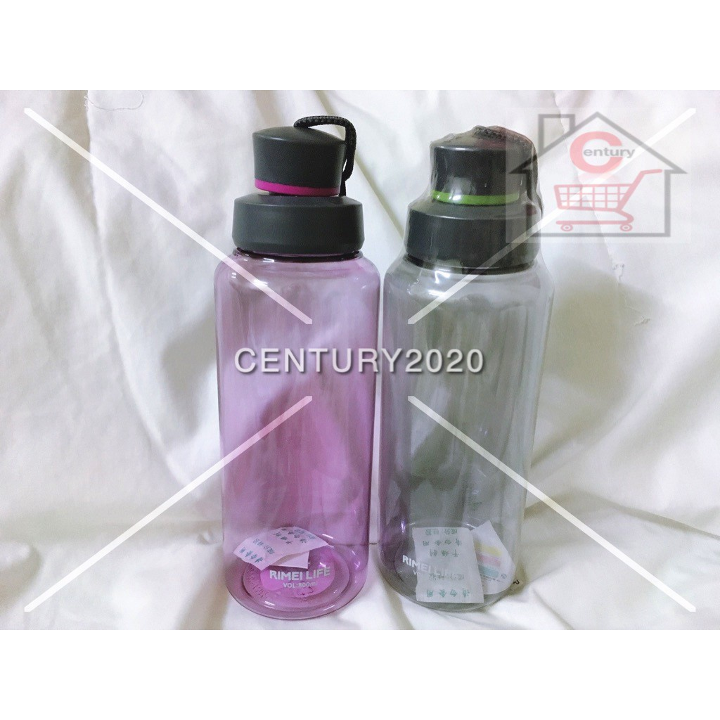 RIMEI Sports Water Bottle Double Mouth Leak Proof Space Cup Travel Mugs With Strap Outdoor Travel Portable Bottle 800ml