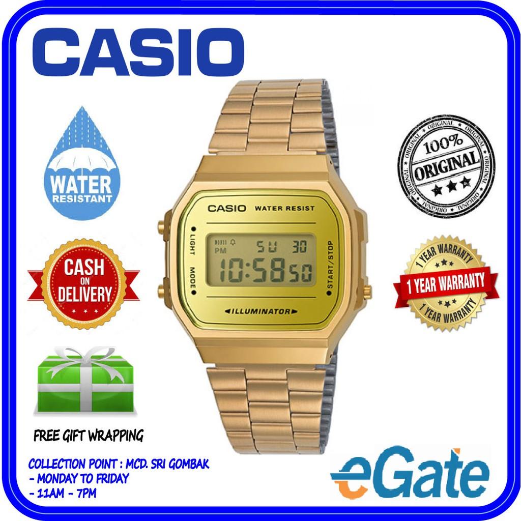 96a321602bfb Casio B650WC-5A Unisex Rose Gold Digital Watch