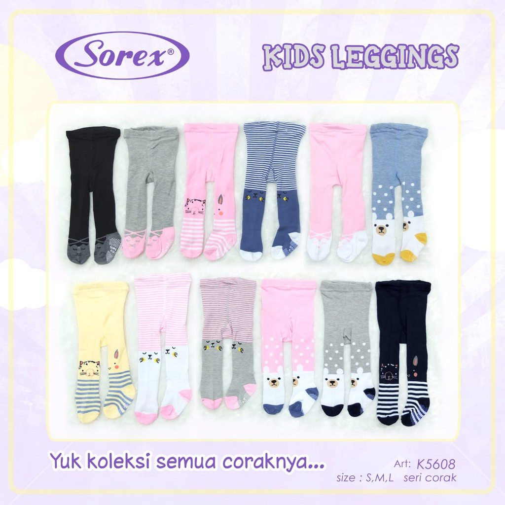 Sorex Baby Girl Leggings Leggings K5608 K5607 K5606 Shopee Malaysia