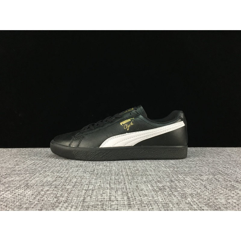 best website 86134 0015b Puma PUMA Clyde x Atmos T.T.T low to help cattle leather ...