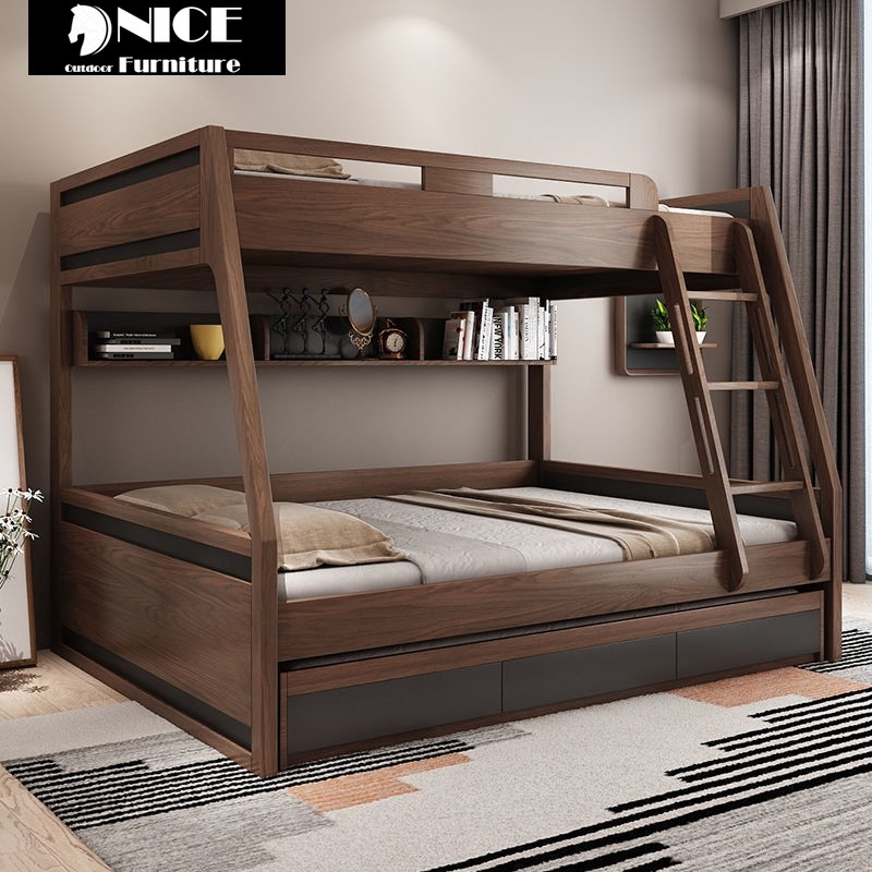 Children S Bedroom Children Bed Katil 2 Tingkat Height Bed With Storage Drawer Double Bed Triple Bed Quadruple Bed Multi Function Bed Solid Wood Bunk Bed Shopee Malaysia