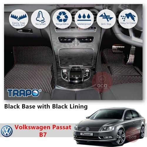 TRAPO Customize Car Floor Mat for Volkswagen Passat B7