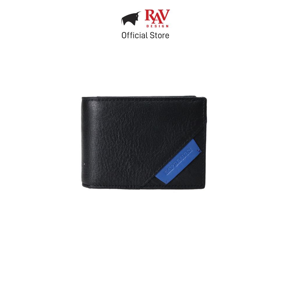 RAV DESIGN Men's Genuine Leather Money Clip Wallet |RVW623 Series
