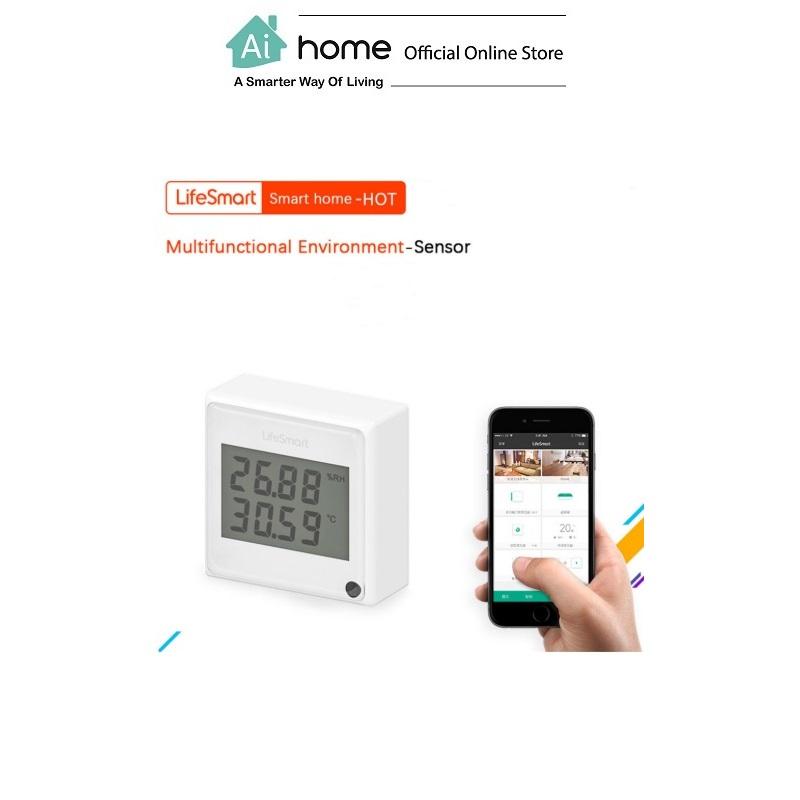 Lifesmart Wifi Cube Environmental Sensor [ Smart Sensor ] with 1 Year Malaysia Warranty [ Ai Home ]