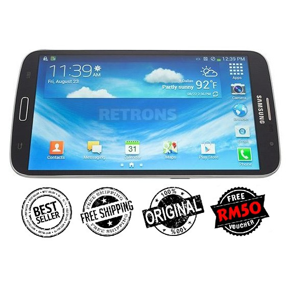 "🇲🇾 Ori Samsung Mega 5.8"" Inch LCD i9152 Dual Sim (8GB+1GB RAM) FREE iRing Phone Holder [1 Month Warranty]"