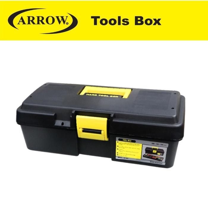 ARROW AM380 (BOX ONLY) HARD TOOL BOX 15''  SINGLE LAYER HEAVY DUTY TOOL BOX KOTAK ALAT EASY USE MUDAH RINGAN