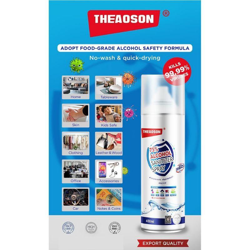 THEAOSON Sanitizer Spray ( 75% Alcohol ) 450ml
