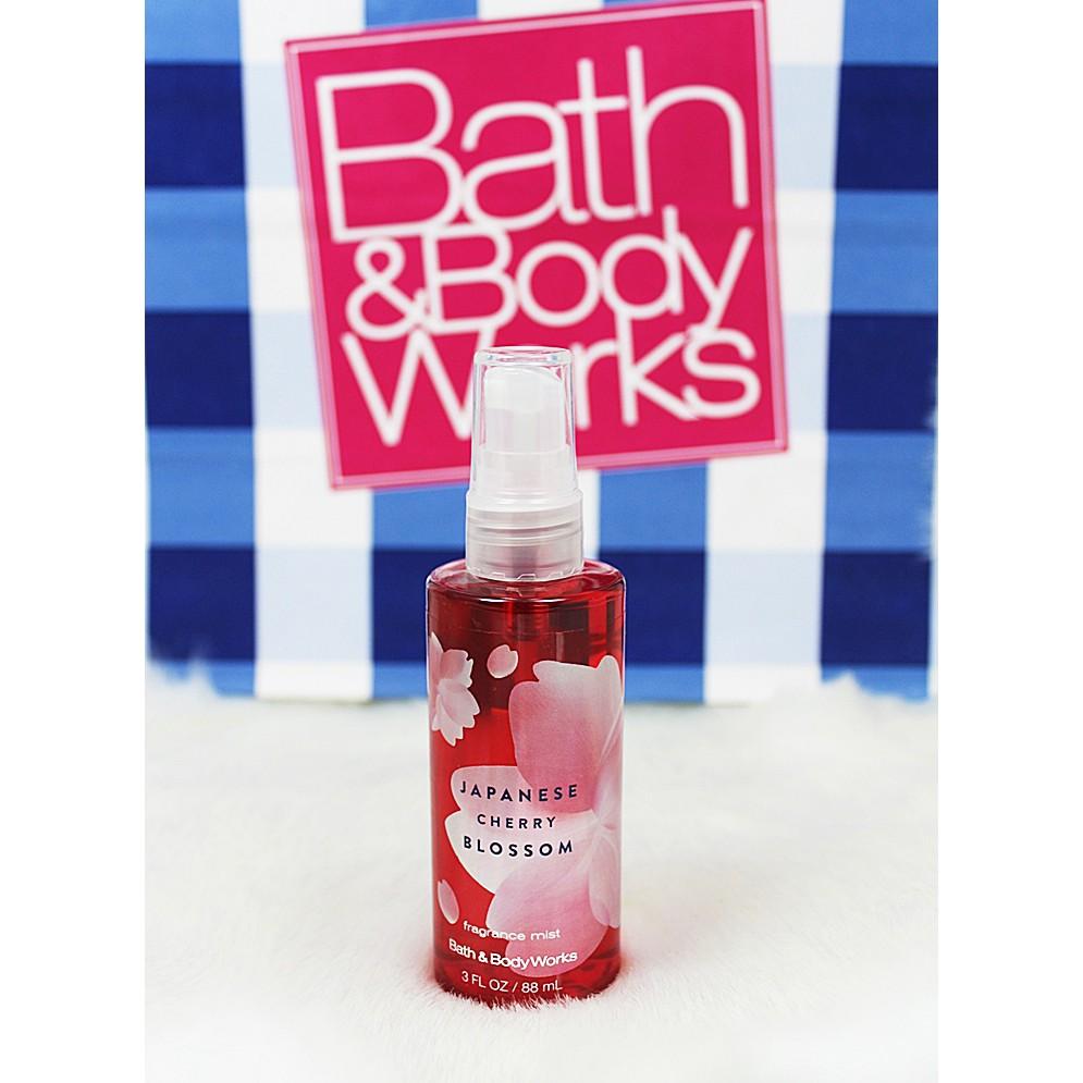 b4d3c2f52342 Bath and Body Works Japanese Cherry Blossom Travel Fragrance Mist | Shopee  Malaysia
