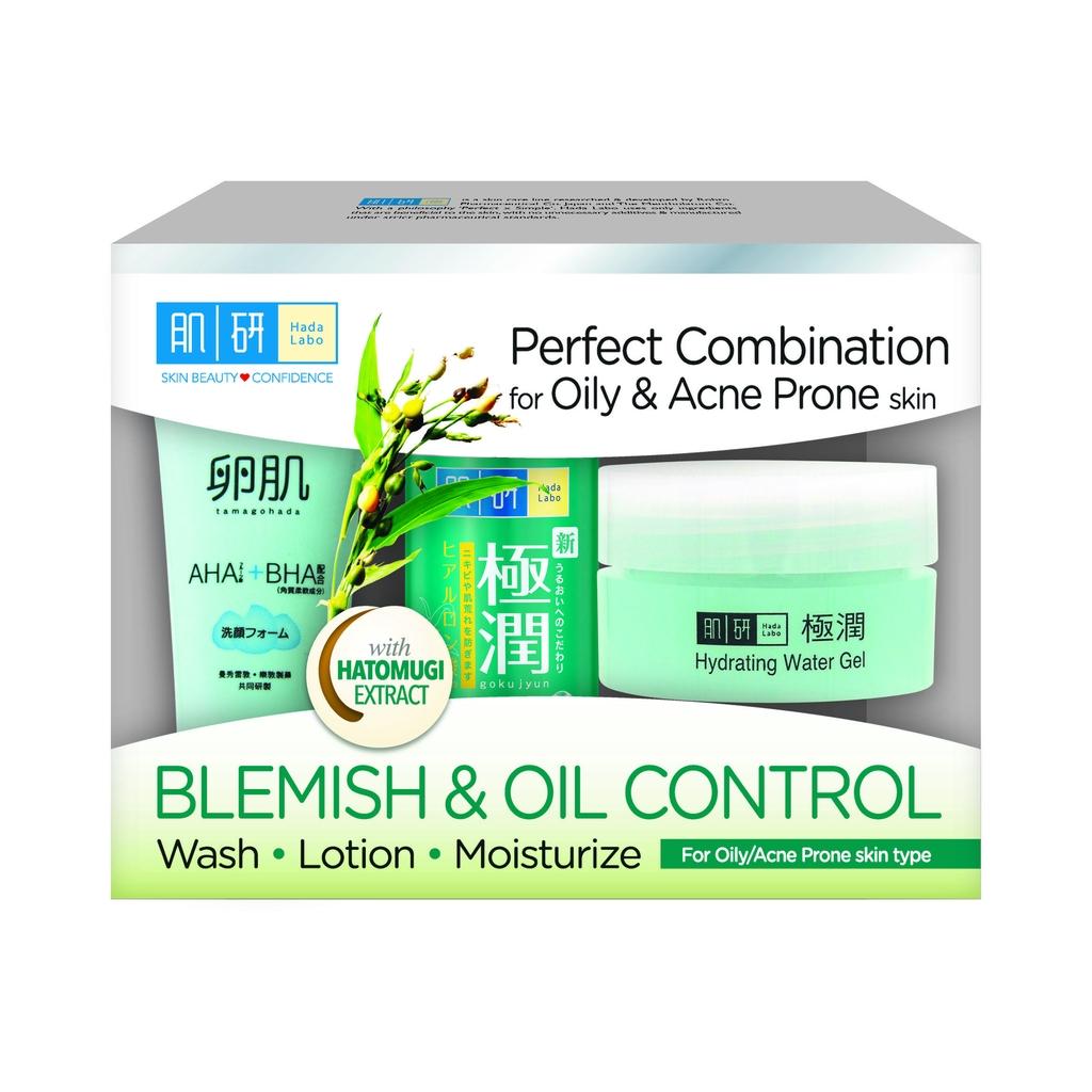 Hada Labo Blemish & Oil Control 123 set