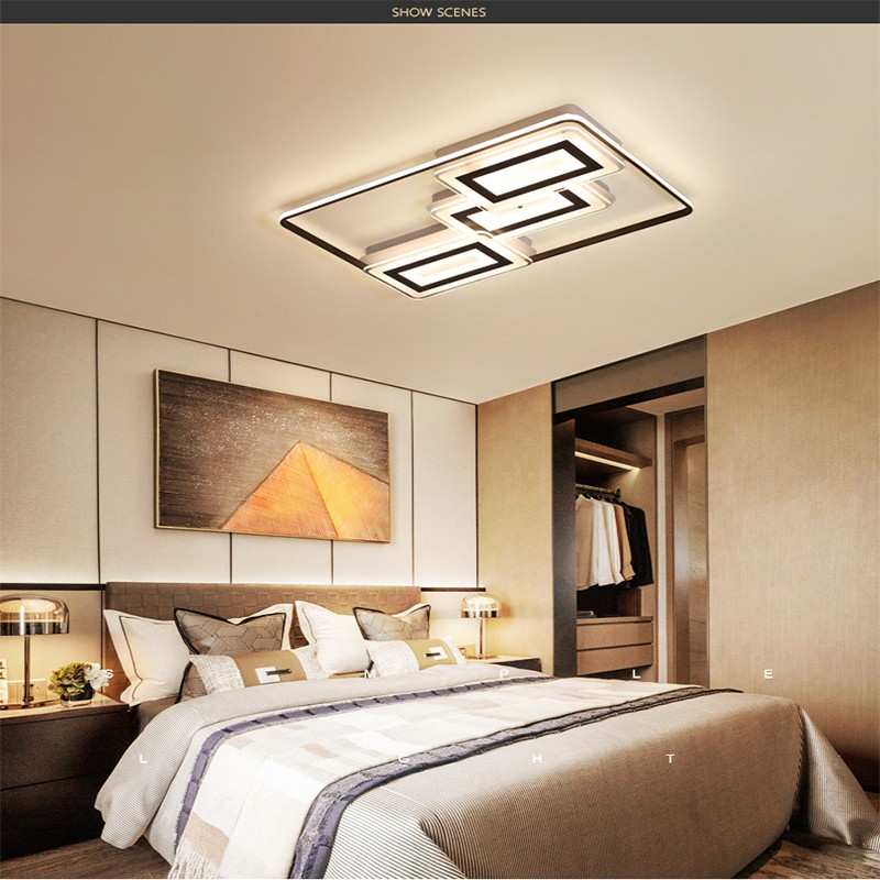 Ceiling Lights Square Ultra Thin Modern
