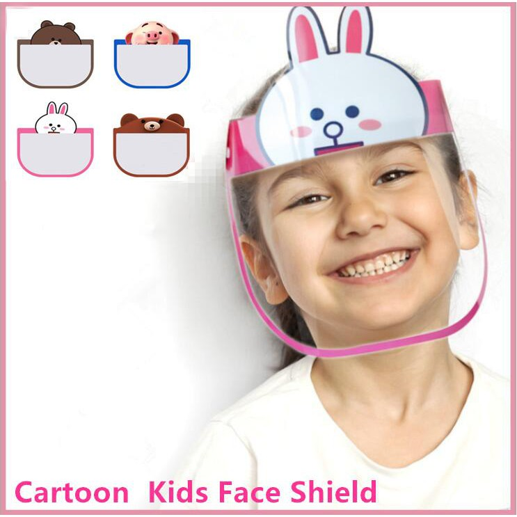 KID Face Shield mask with anti-fog