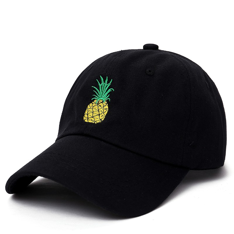 b5e4b59d7a6f5 Men Women Pineapple Dad Hat Baseball Cap Polo Style Fashion Unisex Dad Cap  Hats