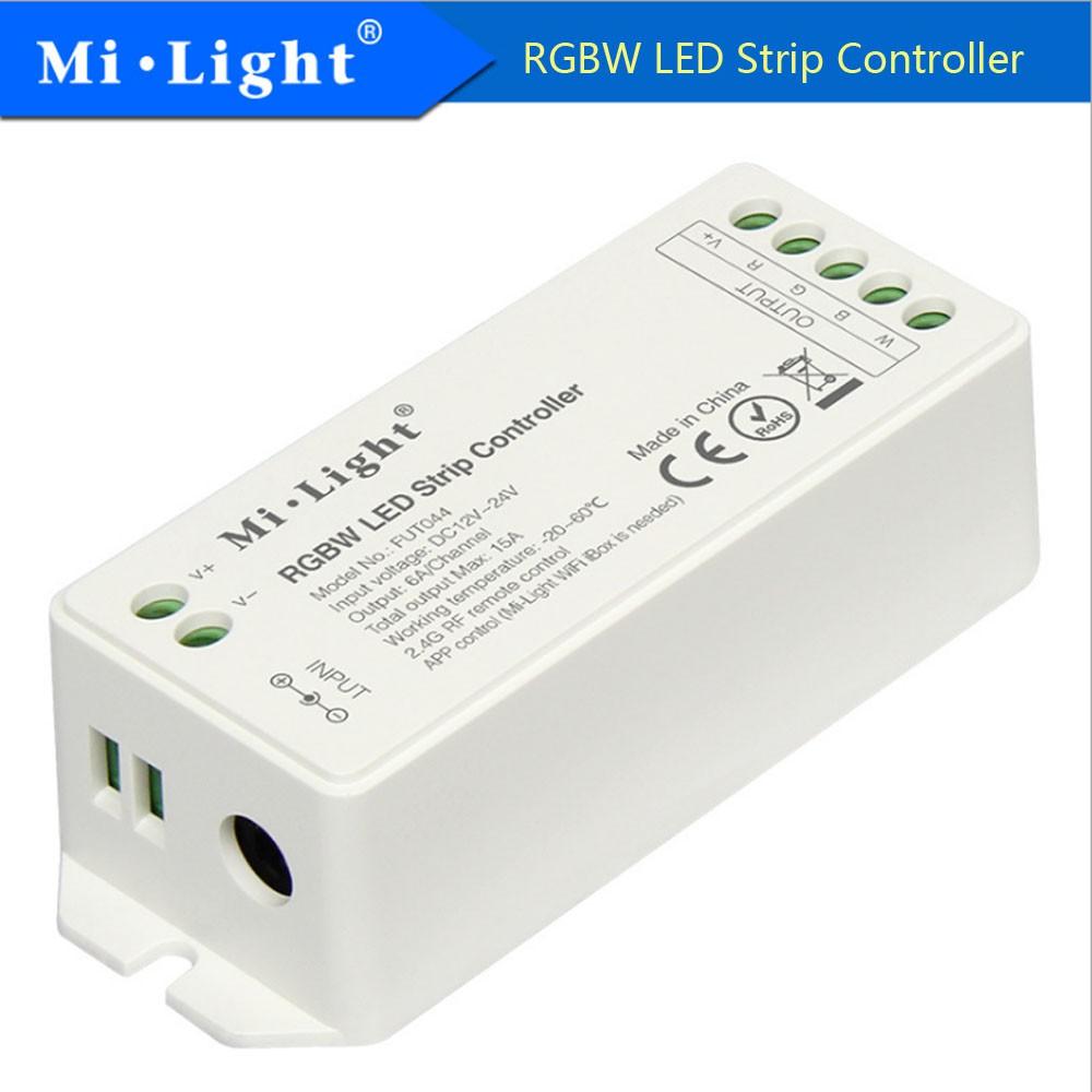 MIlight FUT044 RGBW LED Strip Controller 15A 2 4GHZ Wireless DC12-24V