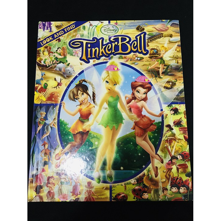 USED English Story Book - Disney Tinker Bell, Look and Find Activities