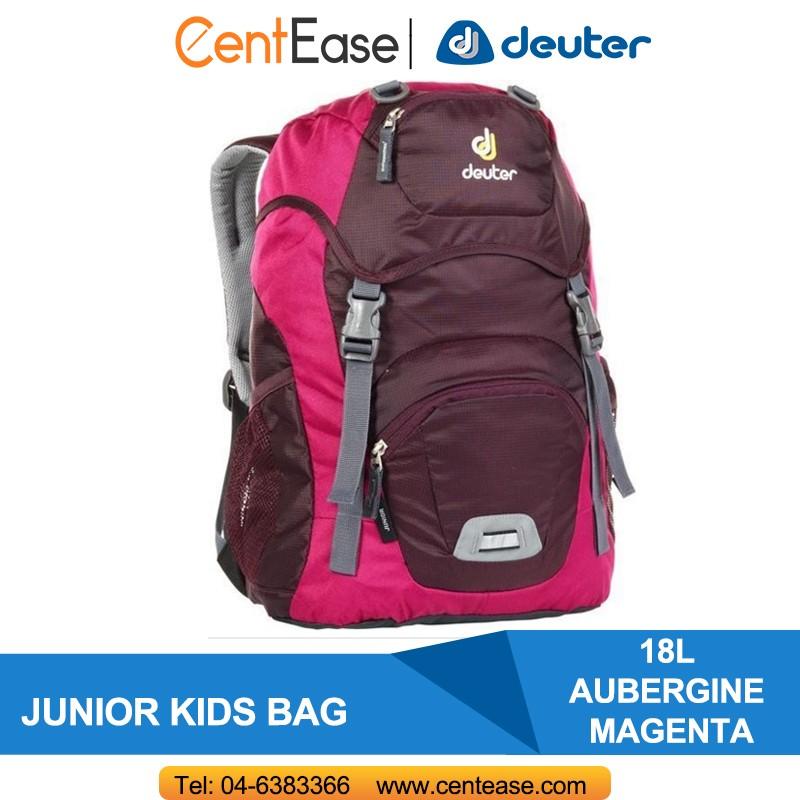 DEUTER JUNIOR KIDS BAG - AUBERGINE MAGENTA (36029-5509-0)  0301dadf7a543