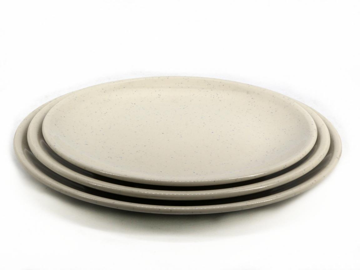 Toyogo dining plate Set D 3 in 1 / piring set 3 dalam 1