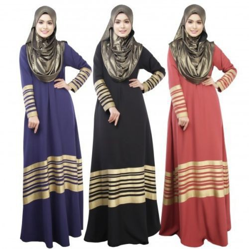 Fashion Two-Piece Modern Jubah Dress  2925a7ff86