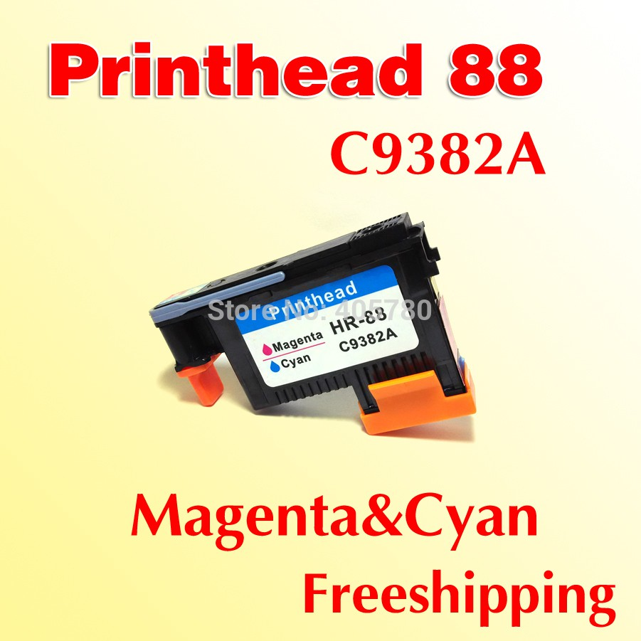 1x Magenta Cyan Printhead Compatible For Hp88 C9382a Print Head Replacement Hp 81 Yellow Designjet Dye And Cleaner Original 705 Cd955a Shopee Malaysia