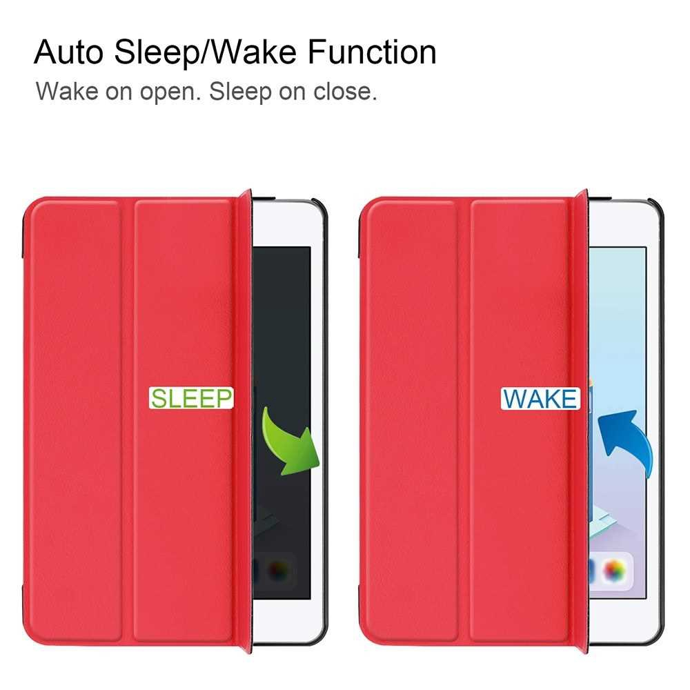 Tablet Cover Slim Light-Weighted Auto Sleep Wake Function Full Screen Display Hassle-Free Operation Case for iPad mini