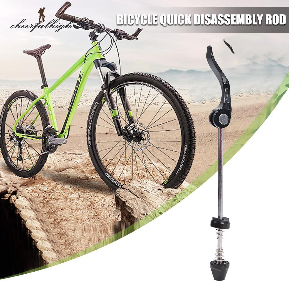 53g Black Titanium quick release Road MTB Bike Cycling wheel skewer axle