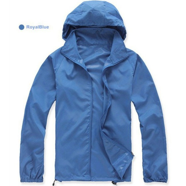 dd42c0c4e16 Quick Dry Outdoor Hiking Jacket Women Waterproof Sun UV Protection Coats  Camping