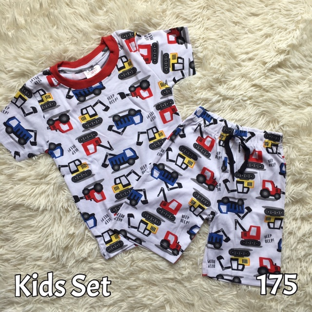 Borong Mix Kids Set Baju Siang Boy Girl Baju Dan Seluar Pendek Budak Lelaki Perempuan Size 2y 8y Shopee Malaysia