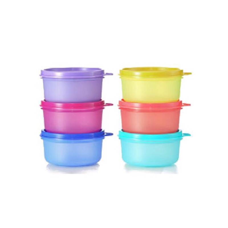 🔥🔥🔥Tupperware Small Round Containers (6) 200ml