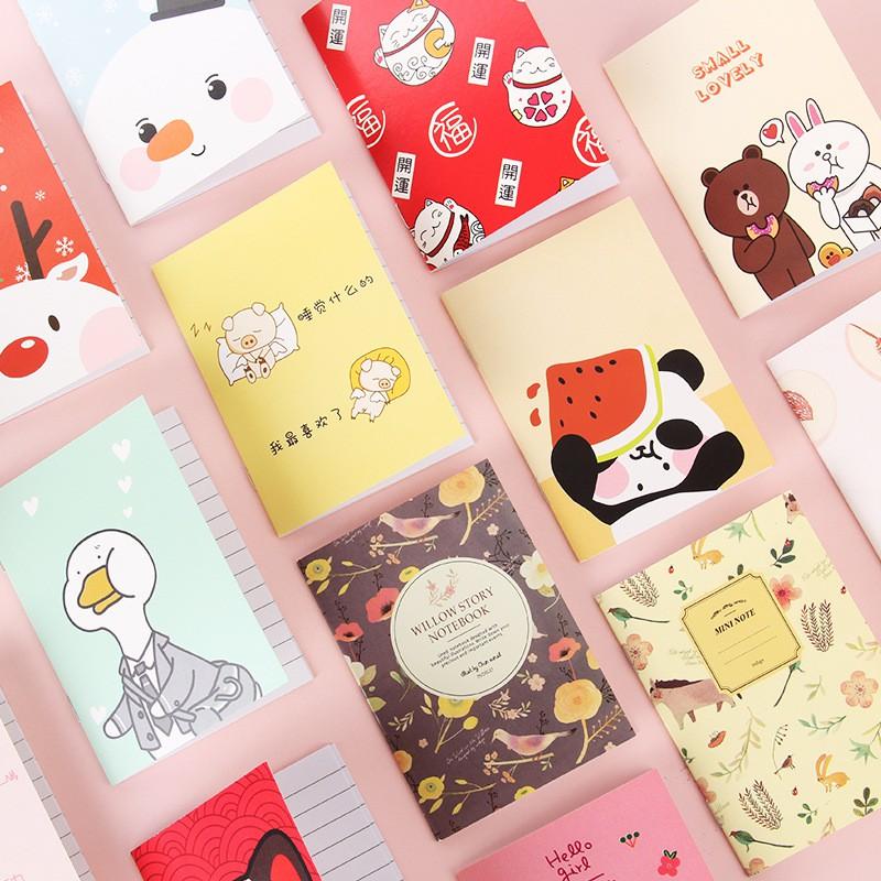1 Pcs Door Gift Cute Mini Portable Notebook Small Kids
