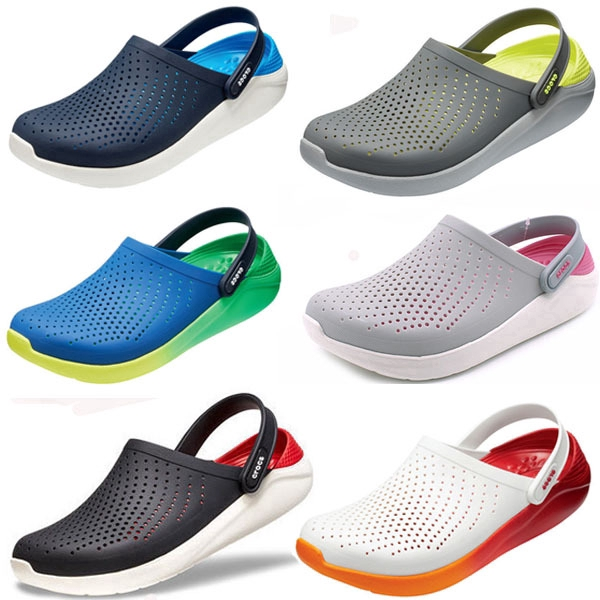 Crocs Men's and Women's Beach Shoes LiteRide Non-slip Wading Shoes Men's  Sandals and Slippers Plus Size Men and Women Hole Shoes 0461104611 | Shopee  Malaysia