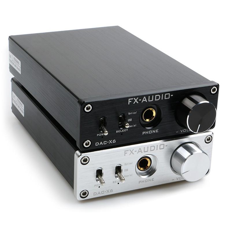 SENUCN-Audio Q5 DAC & Headphone Amplifier Optical Coaxial