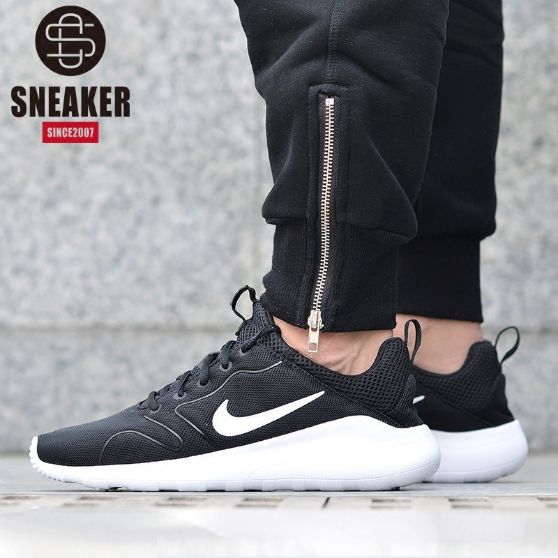 86dcd695ca745 QT Nike Kaishi 2.0 men leisure trend running shoes black and white