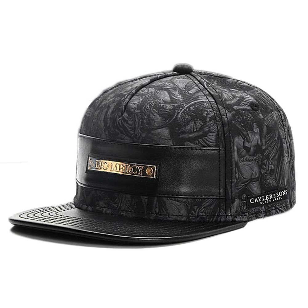 Cayler and Sons Snapback Cap  Black PU   fce6f51fe85