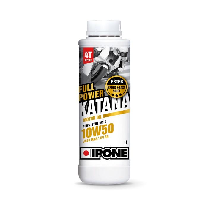 IPONE Full Power Katana 10W50 4T 1 Liter Motorcycle Engine Oil