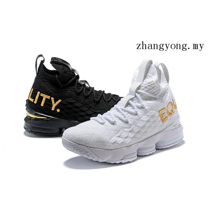 meilleures baskets En liquidation acheter en ligne Nike Lebron XV Equality Men's Basketball Shoes James LBJ15 Basket Sport  Sneakers
