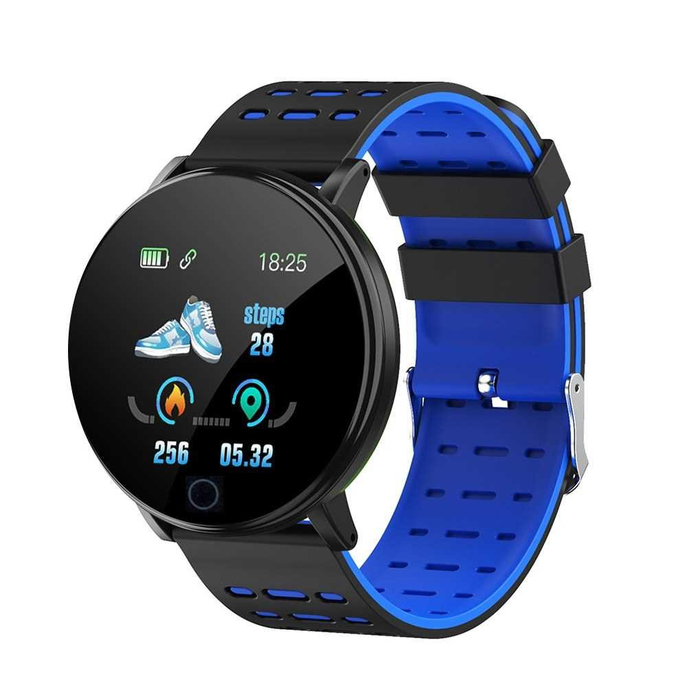 LH719 Intelligent Watch Color Screen BT Sports IP68 Waterproof Watch Steps Counting Blood Pressure Heart Rate Monitorin