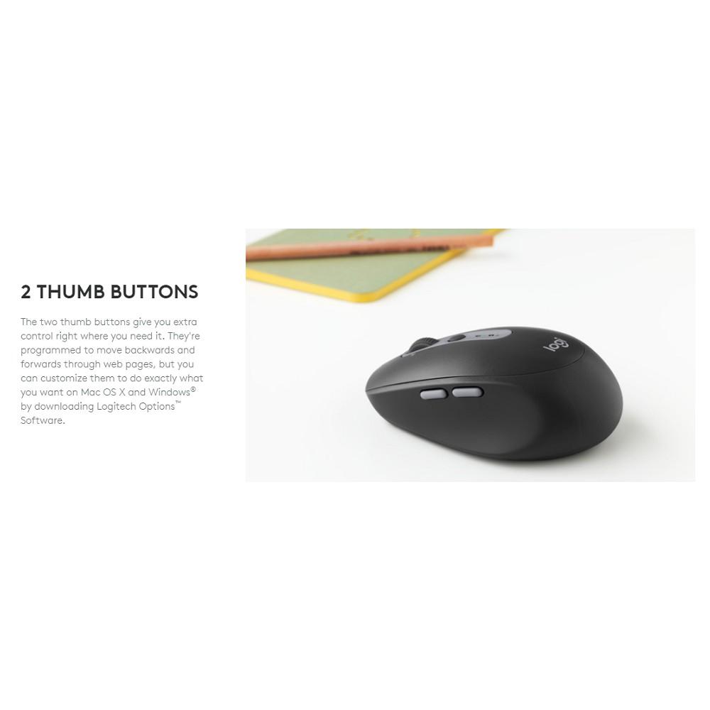 Logitech M590 Multi-Device Silent Mouse (Graphite Tonal)