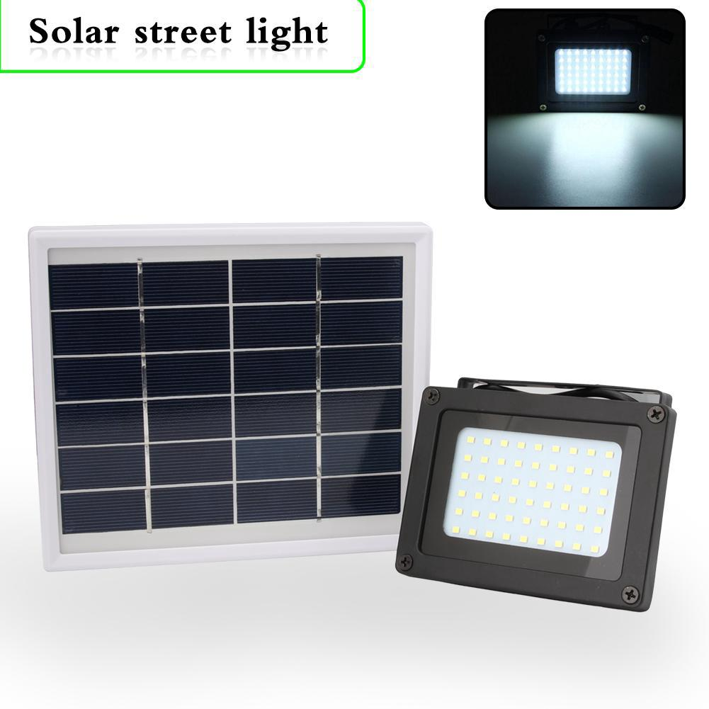 3//54 LED Waterproof Solar Powered Sensor Flood Light Garden Yard Security Lamp