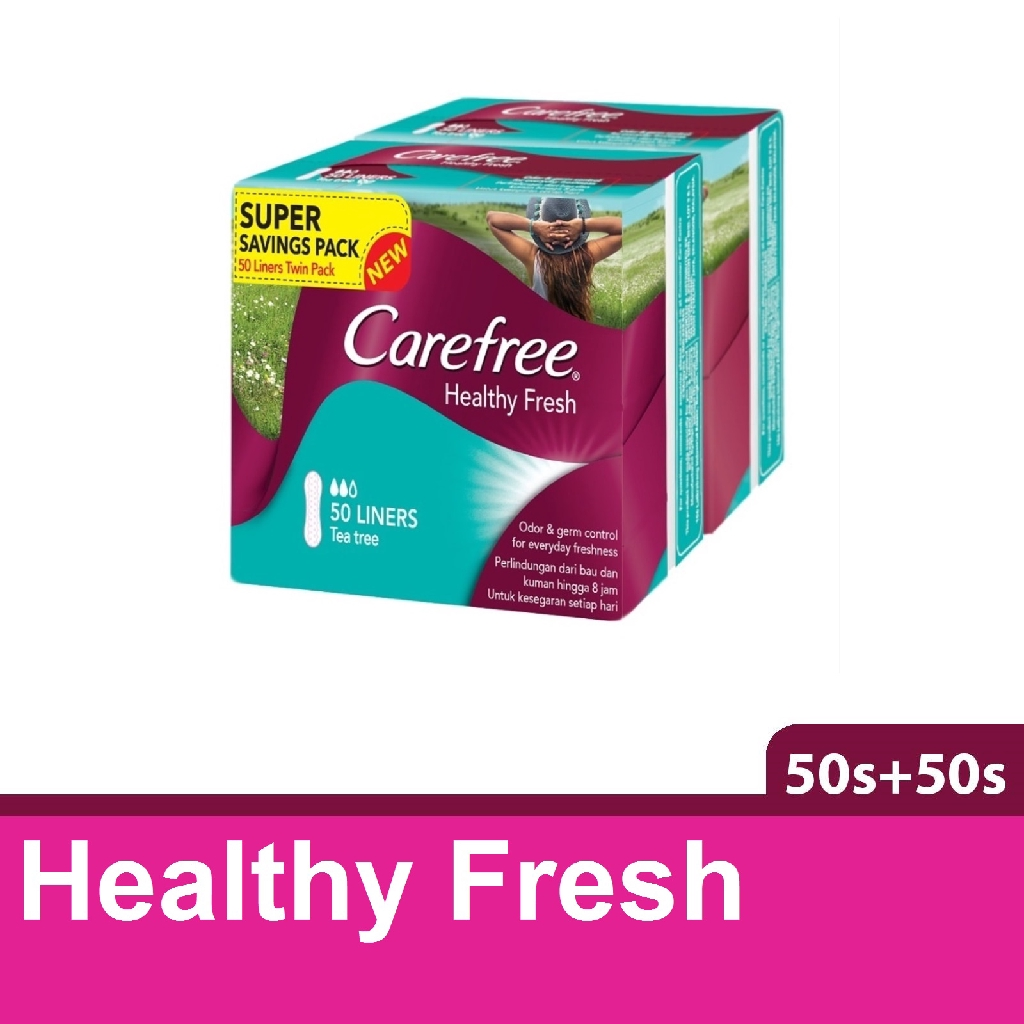 Carefree Liner Healthy Fresh (50s x 2)