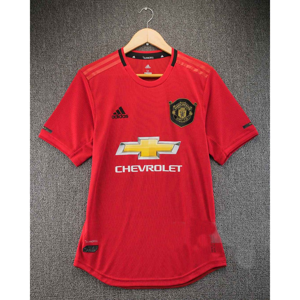Manchester United Home Jersey Player Issue 19 20
